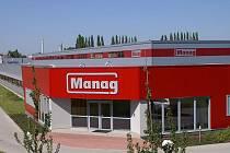 Sídlo společnosti Manag v průmyslové zóně na kolínské Šťáralce.