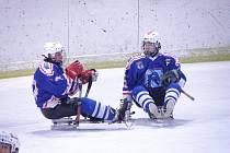 Z utkání 1. kola play-off Kolín - Zlín (1:4).