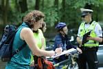 Policisté prověřili bezpečnost cyklistů. Ilustrační foto.