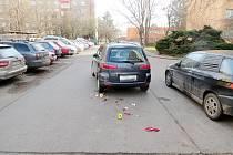 Dopravní nehoda v ulici Na Magistrale