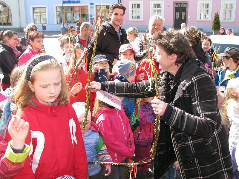 Zuzana Chmelová se svými Kouřimáky