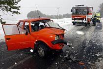 Nehoda u obce Vysoká, 15.10.2009