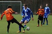 Z přípravného utkání FK Kolín - Nymburk (6:3).