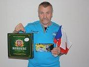 Vítězem třetího jarního kola se stal Václav Cabrnoch z Kolína.