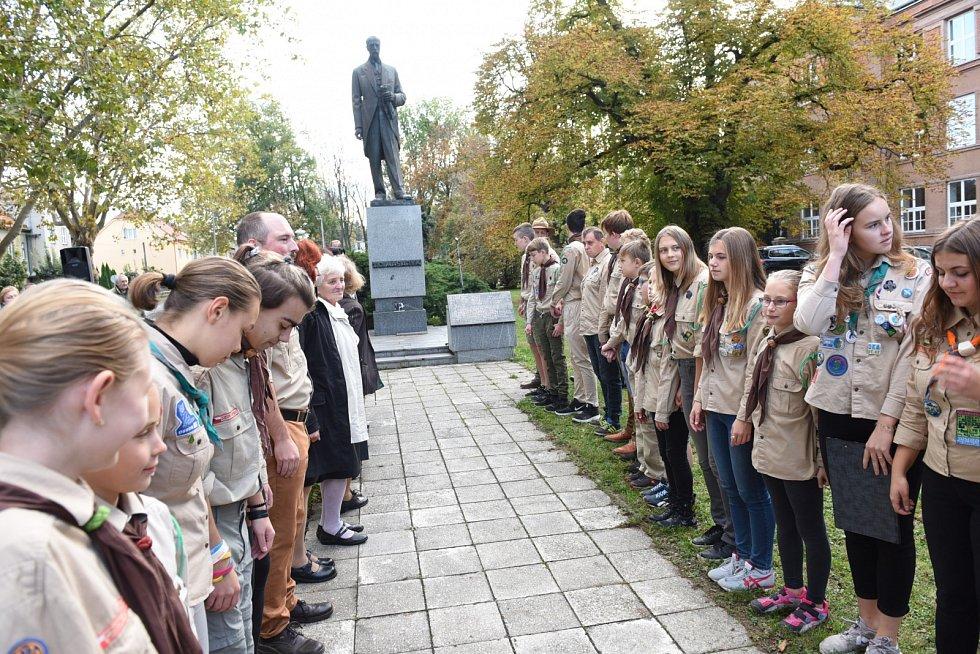 Výročí vzniku samostatné republiky si připomněli v Kolíně.