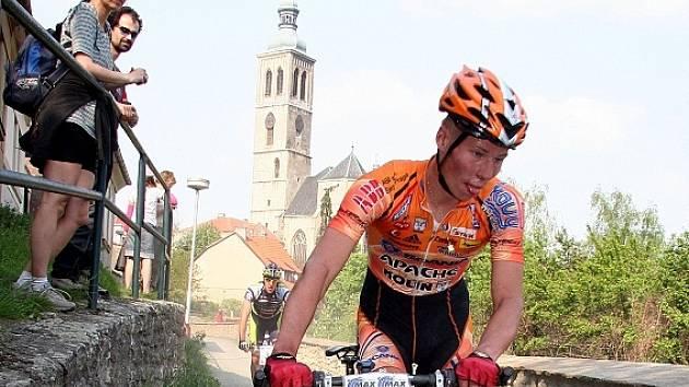 Biker Filip Eberl.
