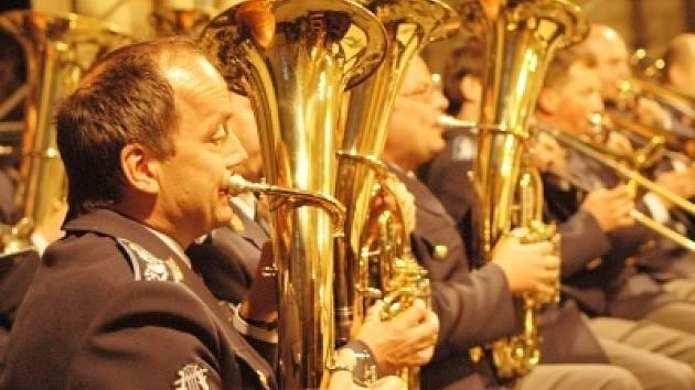 Dechová hudba má v Kolíně velkou tradici.
