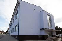 Zrekonstruovaná budova.
