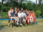Krajské kolo v Kostelci 2005 žáci
