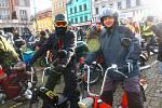 Vánoční vyjížďka kolínských motorkářů