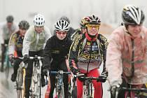 Cyklisté kolínské stáje Scott Team v plné přípravě na sobotní závod.