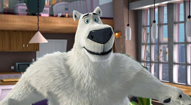 Záběr zanimovaného filmu Ledová sezóna: Medvědi jsou zpět.