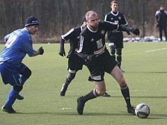 Z přípravného utkání FK Kolín - Benátky nad Jizerou (2:3).