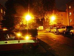Při vaření hořelo v bytu v ulici Mikoláše Alše v Kolíně.