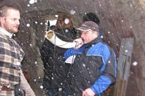 Zimní akce na tvrzi v Nebovidech