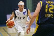 Z utkání BC Kolín - BK Opava (88:71).