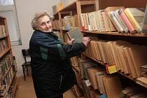 Dlouholetá knihovnice Zdeňka Štiková