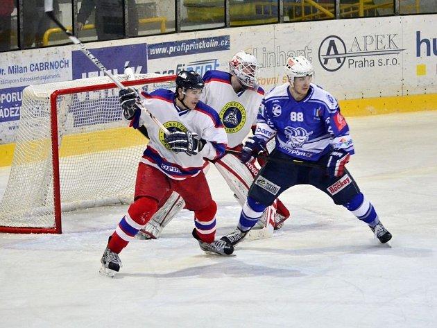 II. NHL: Kolín - KoBra Praha (2:3 pr)