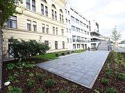 Rekonstrukce teras za Městským společenským domem v Kolíně