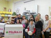 Z předání cen v rámci projektu 'Daruj radost' v Českém Brodě.