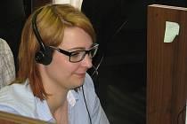 Z návštěvy nového kolínského call centra ČEZ