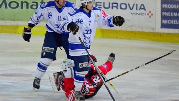Z utkání II.ligy; Kolín - Klatovy (6:1)