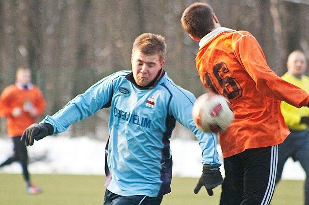 Z utkání FK Kolín U19 - Velim (1:6).