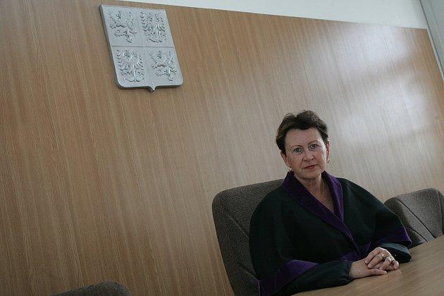 Předsedkyně Okresního soudu v Kolíně Libuše Kantůrková