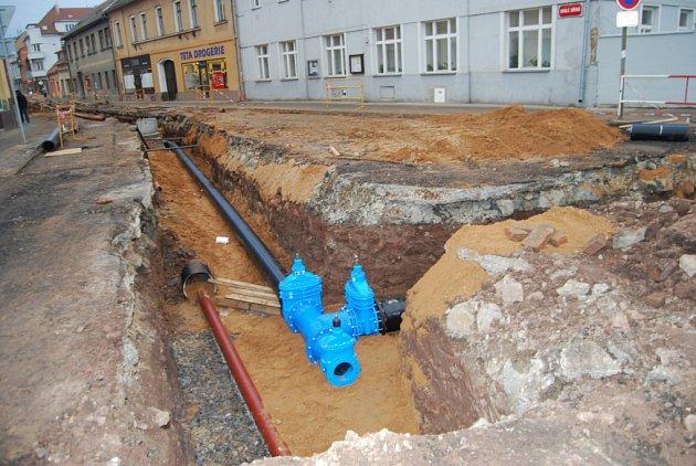 Rekonstrukce místních komunikací v Českém Brodě
