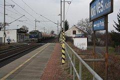 Železniční zastávka v Nové Vsi I