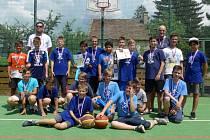 Mladí kolínští Medvědi obsadili v silné konkurenci třetí místo.
