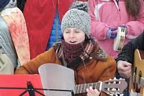 Tříkrálovské zpívání na náměstí