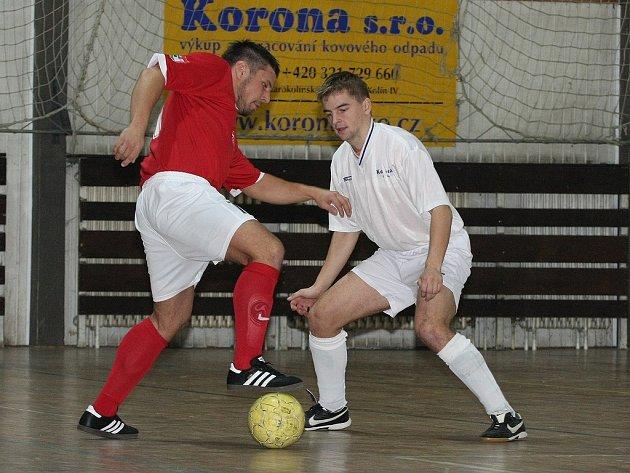 Z utkání SKP Kolín - FC Příbram (7:12).