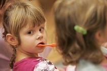 Bobříkova škola zdravých zoubků v mateřince