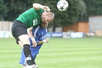 Z utkání FK Kolín - FC Chomutov (2:0).