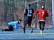 Z přípravného utkání FK Kolín - Velvary (1:3).