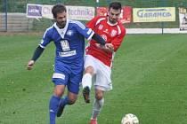 Z utkání FK Kolín - Vlašim (1:3).