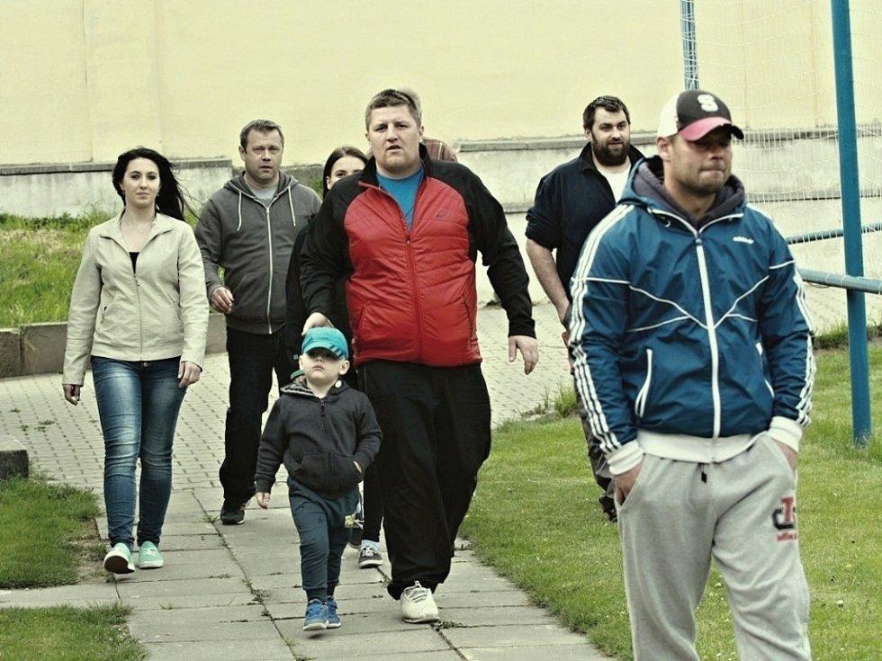 Z utkání Kouřim - Pečky (3:2).