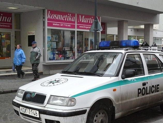 Kolínská drogerie Martina neodolala nájezdu zlodějů