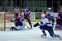Z utkání II. NHL. Kolín - Hodonín (7:3).