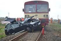 Hrozivě vypadající nehoda si naštěstí nevyžádala lidské životy