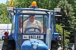 Traktoriáda v Lipci 2017