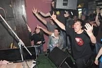 Z koncertu kapely Plexis