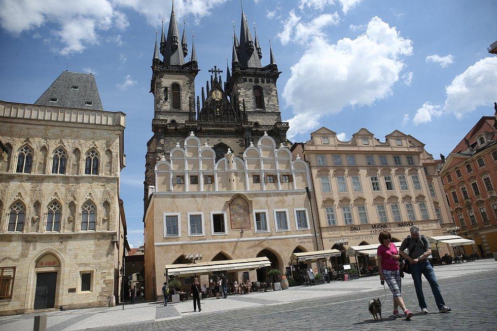 Z návštěvy Prahy v době koronavirové.