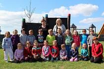 Děti v Mateřské škole v Cerhenicích.