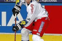 Petr Čáslava v reprezenatčním dresu.