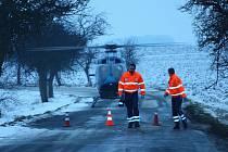 Dopravní nehoda u Radovesnic I