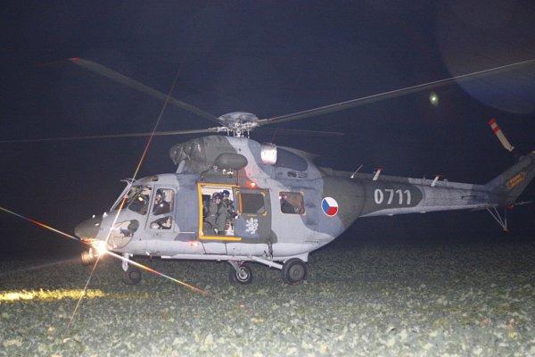 UKolína se zřítil bitevník L-159