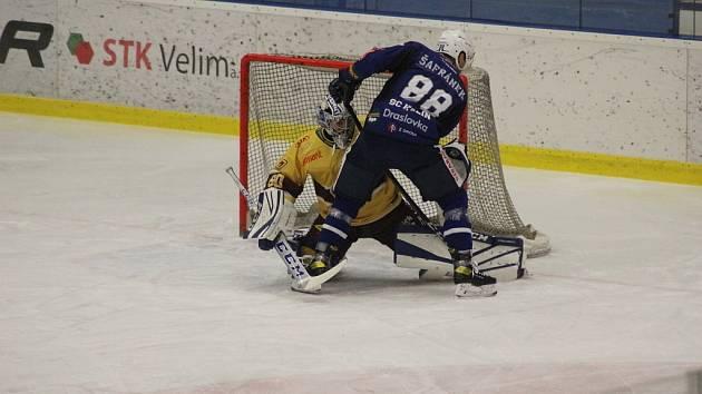 Hokejisté Kolína prohráli v posledním zápase sezony s Třebíčí