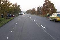 Nehoda na silnici I/12. 30. října 2011